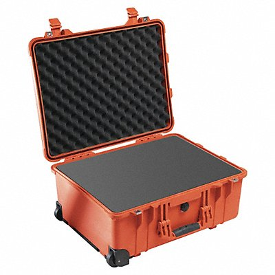 Case W/Foam 22-1/8 L 18 W Orange