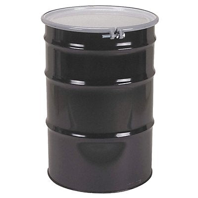 Transport Drum Open Head 55 gal. Black