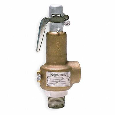 D6758 Safety Relief Valve 1-1/4In 25psi Bronze