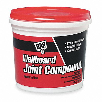 Wallboard Joint Compound 3 lb Pail White