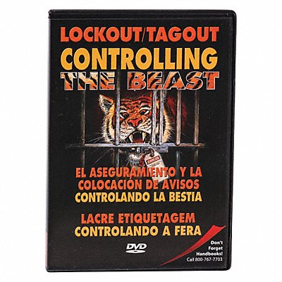 Lockout/Tagout Training DVD 19 min.