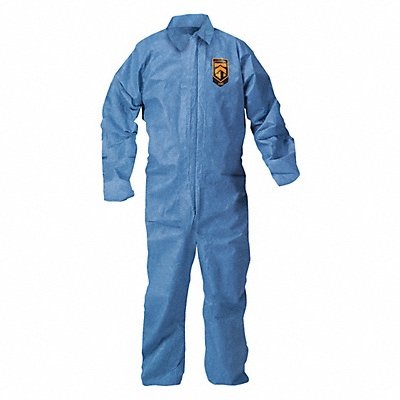 Collared Coverall Open Blue L PK24