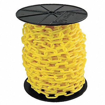 Plastic Chain 1-1/2In x 200 ft. Yellow