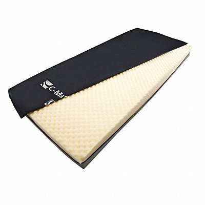 Mattress 80x6x35-1/2in Foam Nylon/Vinyl