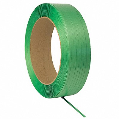 Plastic Strapping 2400 ft L 50 mil