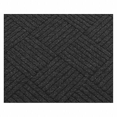 E4174 Carpeted Entrance Mat Charcoal 3ft.x5ft.