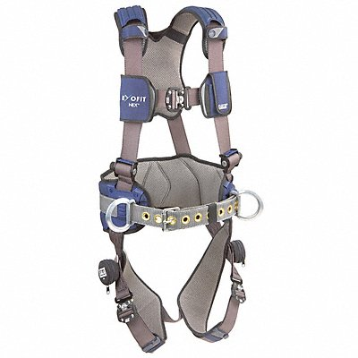 G4559 Full Body Harness 2XL 420 lb. Blue