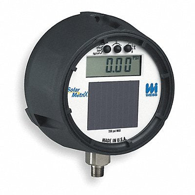 D8583 Digital Gauge 0 to 200 Psi 1/2 In NPT