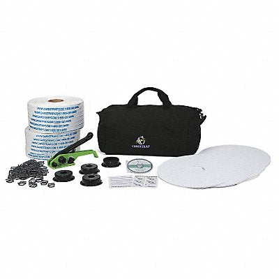 Strapping Kit Polyester 1640 ft L