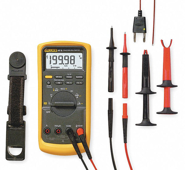 Digital Multimeter 1000V 50 MOhms 10A