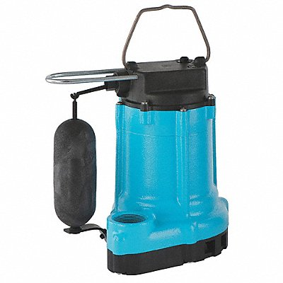 Submersible Effluent Pump 1/2 HP 8.2A
