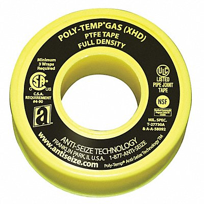 Gas Line Sealant Tape 1/2 x 260 In