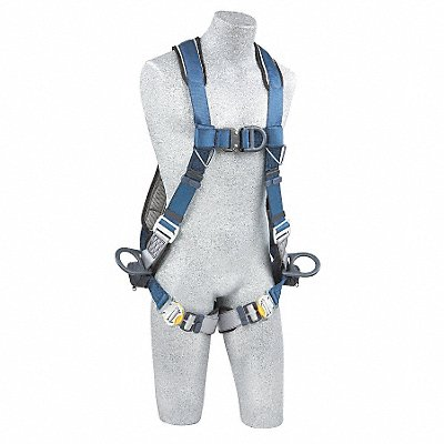 G4574 Full Body Harness L 420 lb. Blue/Gray