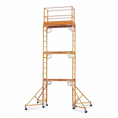 Scaffold Tower 20-1/2 ft H Steel