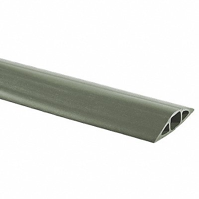 Cable Protector 1 Channel Gray 25 ft L