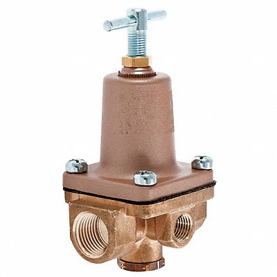 Pressure Regulator 1/2 In 1 to 25 psi