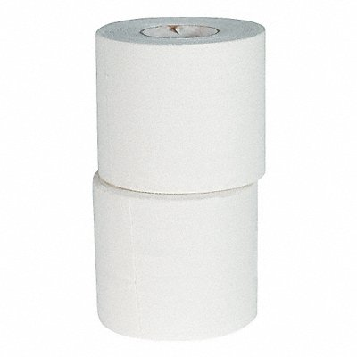 Tape White 2 in W 10 yd. L PK6