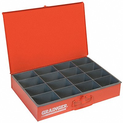 Drawer 16 Compartments Red
