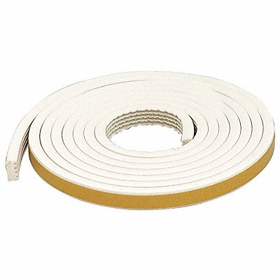 G2342 Weatherstrip White Length 10 ft.