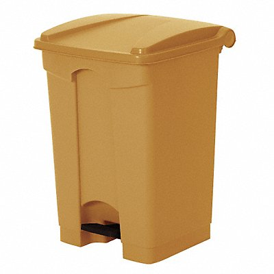 G8985 Fire-Resistant Trash Can Beige