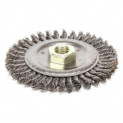 Wire Wheel Brush 4-1/2 In. 3/16 in W