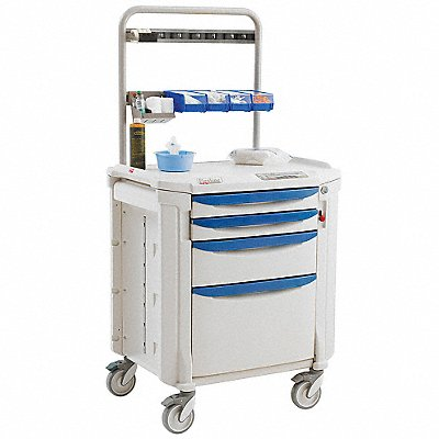 Procedure Cart 63 3/16 Hx22 3/8Wx34 1/4D