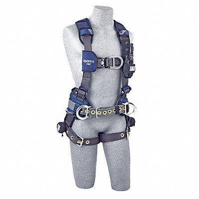 G4560 Full Body Harness M 420 lb. Blue