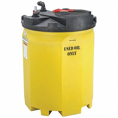 Storage Tank Closed Top Vertical 275 Gal