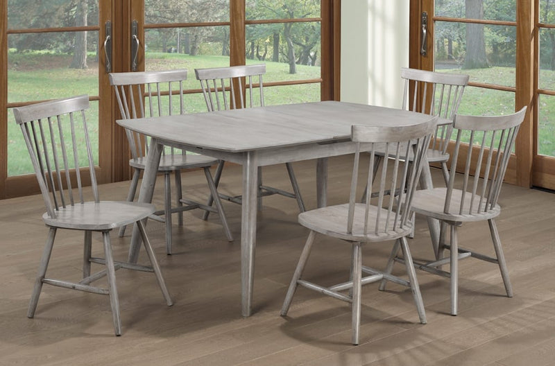 7 Piece Dining Set (Grey) T3056/3055G