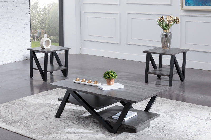 3 Pc Coffee Table Set IF-3501