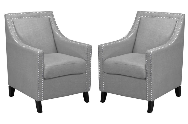 Grey Accent Chair T-410