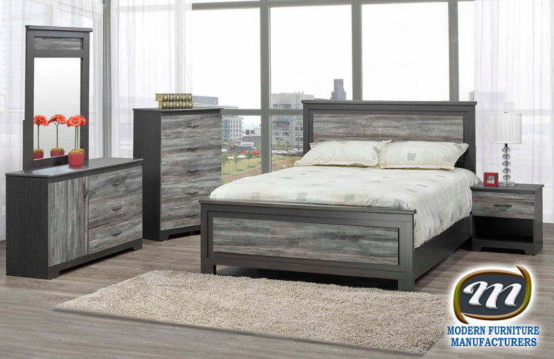 Canadian Made Bedroom Set Canella / Tuxedo 5010