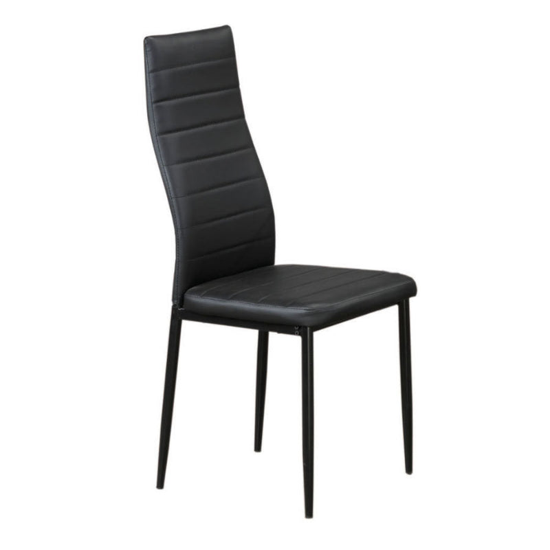 6 Piece Black Dining Chair C-5054