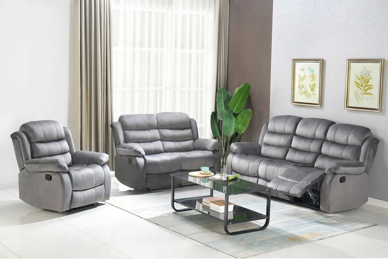 Grey Simone Recliner Chair - 6014C