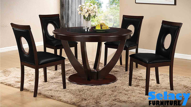 CELINE DINING SET (Table with 4 chairs) / T-610