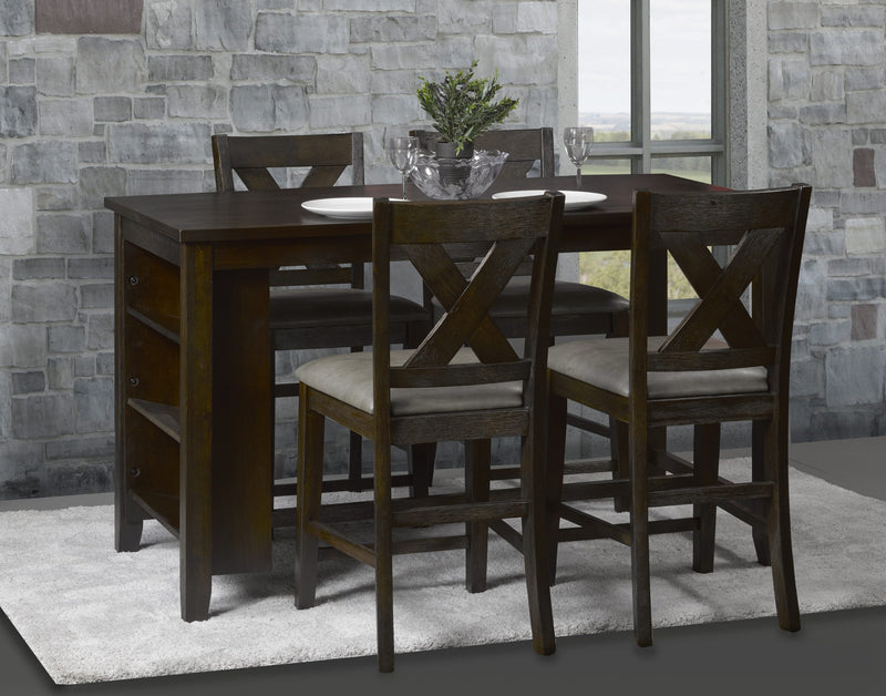 Margo dining table with 4 Chairs