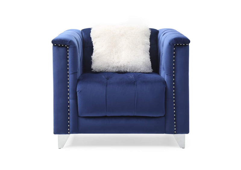 Russell Sofa Set - Blue