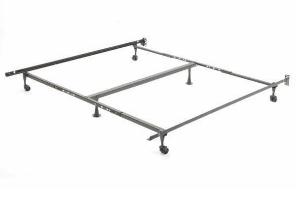 Bed Frame39″/54″/60″ (4 Wheels, 2 Glides, 1 Centre Support) T52