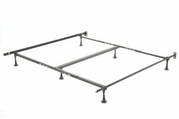 Bed Frame 60″/78″(4 Wheels, 2 Glides, 1 Centre Support) T-54