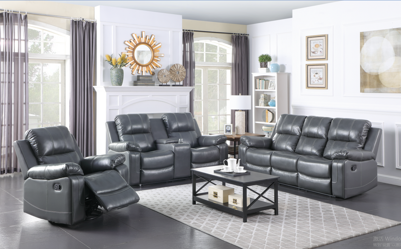 Aamira Recliner Loveseat with Console - KFOA2430L