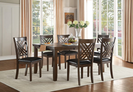 Jas Dining Table with 6 Chairs