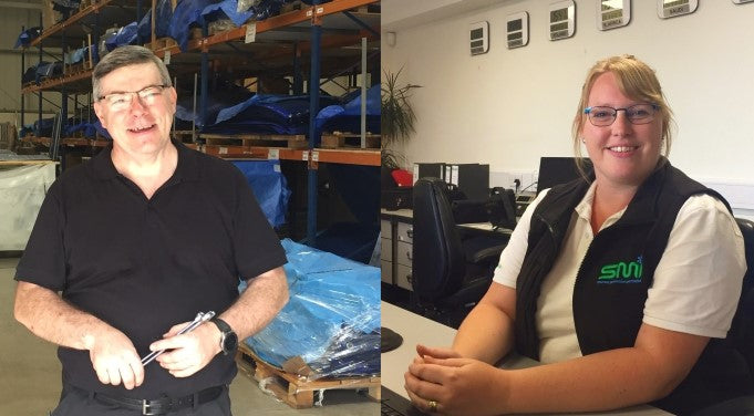 Two new recruits join the SMI Team