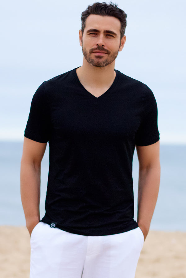 Mens Cotton Tee Shirts for Resort Wear