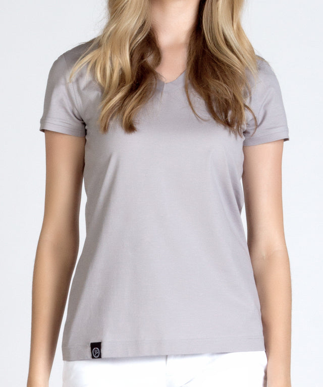 Women's Designer V Neck Tee Shirt