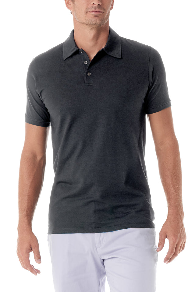 Graphite Portofino Mens Polo Shirt - SCARCI