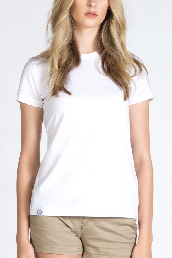 Women's Luxury Dress Crew Neck Tee Shirt