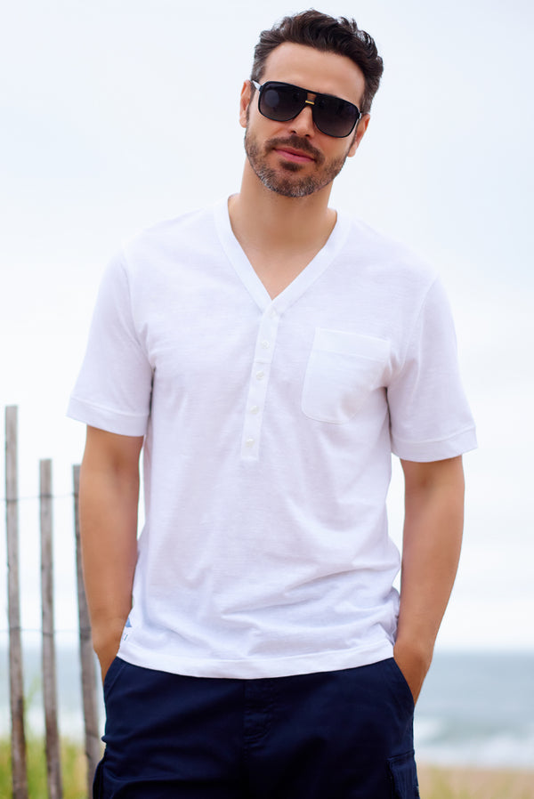 Mens Yacht Clothing and Beachwear Polo