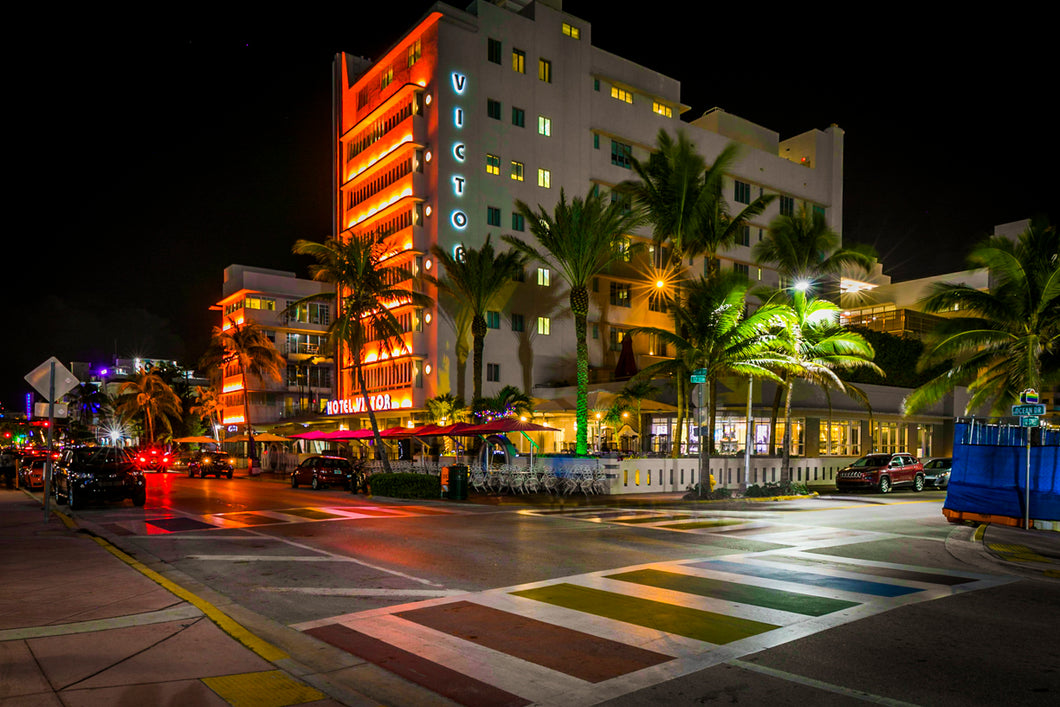 miami red streets