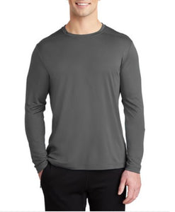Long Sleeve Tee (Moisture Wicking) with TCE Logo