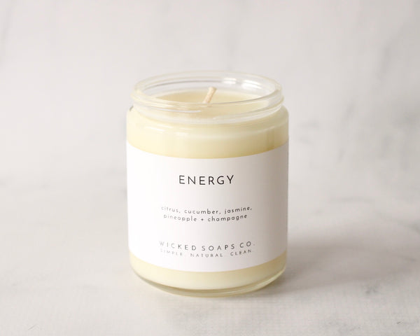 Energy Soy Candle